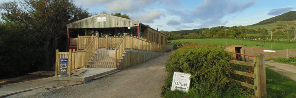 Fletchers Farm coffee shop in Great Ayton, North Yorkshire